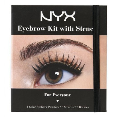 NYX Cosmetics Eyebrow Kit Set With Stencil