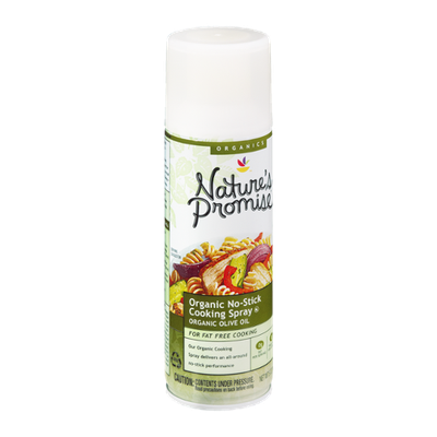 Nature's Promise Organics Organic No-Stick Cooking Spray Olive Oil