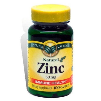 Spring Valley Zinc Supplement