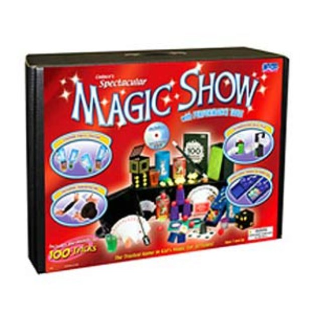 Magic Suitcase Deluxe 100 Trick with DVD Ages 7+