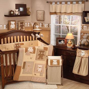 Cribs Teddy Bear 4 Piece Crib Set by Eddie Bauer
