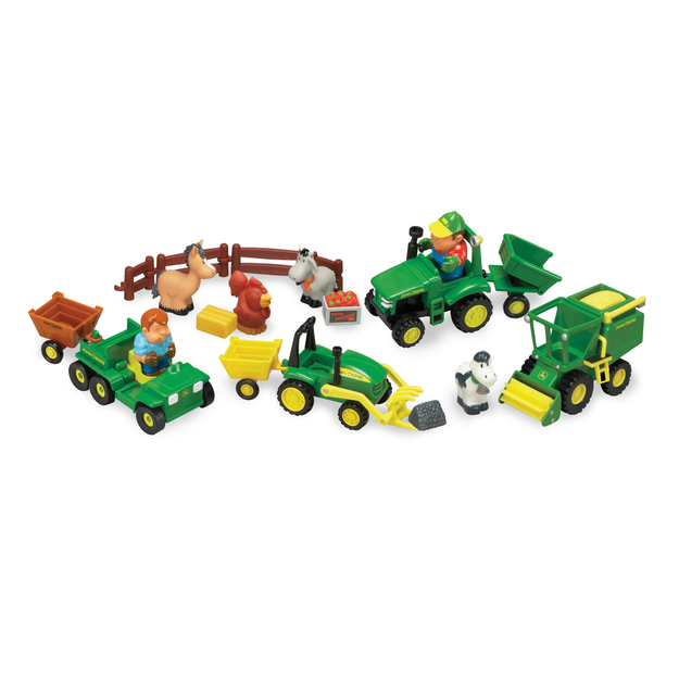 Rc2 Brands John Deere Fun On The Farm 20Pc Playset 34984 by RC2 Brands