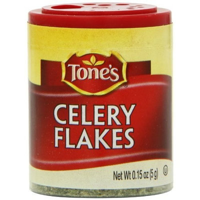 Tone's Mini's Celery Flakes, 0.15 Ounce (Pack of 6)