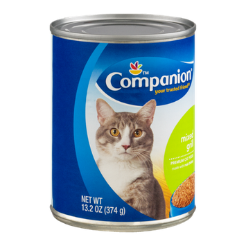 Companion Premium Cat Food Mixed Grill