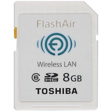 Toshiba Retail Hard Drives FlashAir 8GB Wireless SD Card