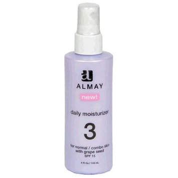 Almay Daily Moisturizer for Normal/Combo Skin with Grape Seed & SPF 15