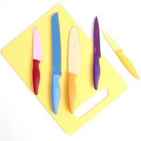 Gibson Overseas, Inc. Primary Basics 6-Piece Nonstick Cutlery Set