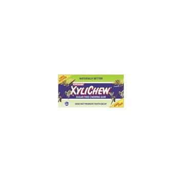 Xylichew Sugar Free Chewing Gum, Peppermint 24x12 PC