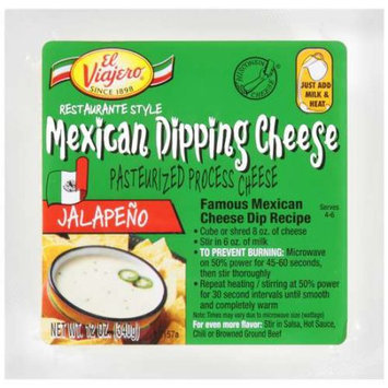 Wi Cheese Group El Viajero Mexican Jalapeno Dipping Cheese, 12 oz