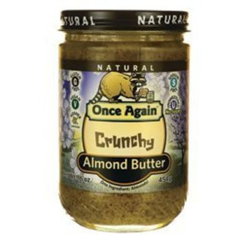 Once Again Nut Butters C Once Again Nut Butters (C) Almond Btr, Crnch, Ns, 16-Ounce