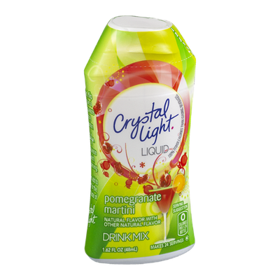 Crystal Light Liquid Drink Mix Pomegranate Martini Flavor