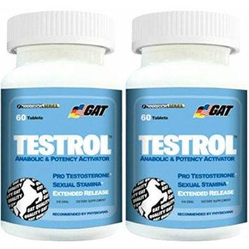 GAT Testrol, 60 tabs (Pack of 2)