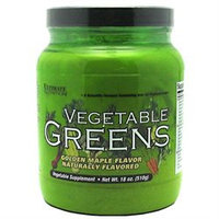 Ultimate Nutrition Vegetable Greens - 510 Grams - Golden Maple