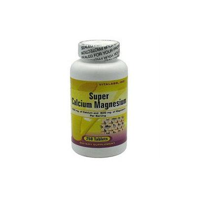 Vitalabs Super Calcium Magnesium, 250 tablets