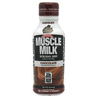 CytoSport Muscle Milk RTD Chocolate - 12 Containers