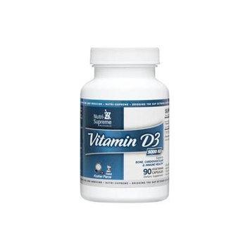 Nutri-Supreme Research Vitamin D3 5000 IU - 90 Vegicaps