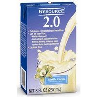Nestlé Clinical Nutrition RESOURCE 2.0 LIQ FORM VANLLA Size: 27X8 OZ
