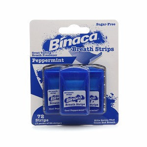 Binaca Breath Strips