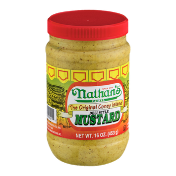 Nathan's The Original Coney Island Mustard