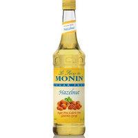 Monin Sugar Free Hazelnut Syrup, 750ml (25.4oz)