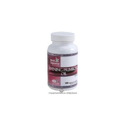 Nutri Supreme Research Nutri-Supreme Research Evening Primrose Oil 500 mg - 100 Vegetarian Capsules