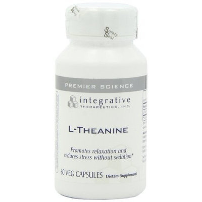Integrative Therapeutic's Integrative Therapeutics - L-Theanine - 60 veg. caps (Premium Packaging)