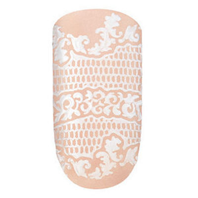 essie nail effects sleek sticks nail appliques, embrace the lace