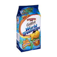 Goldfish® World Treasurers Cheddar Baked Snack Crackers