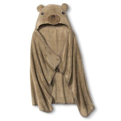 Circo Newborn Bear Wrap Towel - Brown