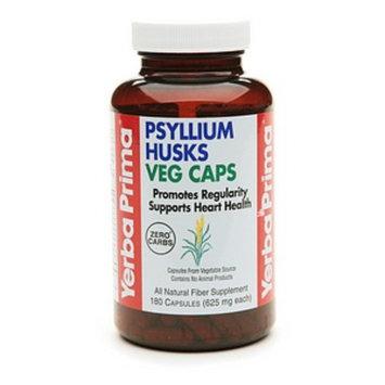 Yerba Prima Psyllium Husks Vegetarian Capsules