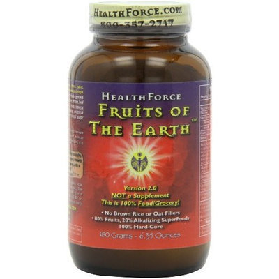 Healthforce Fruits of The Earth, Powder, 180-Grams
