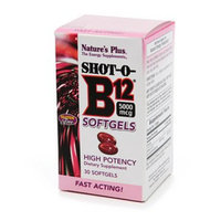 Nature's Plus Shot-O-B12 5000mcg
