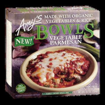 Amy's Kitchen Bowls Vegetable Parmesan