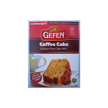 Gefen Cake Mix, Gluten Free, Coffee Crumb, 14-Ounce (Pack of 4)