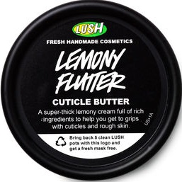 LUSH Cosmetics Lemony Flutter Cuticle Butter