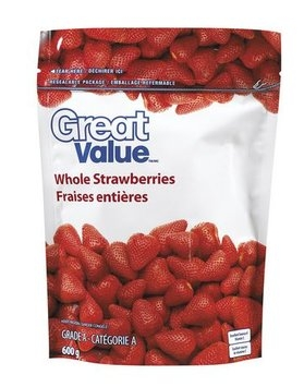 Great Value Whole Strawberries