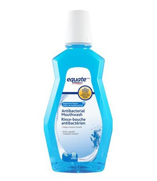 equate™ Antibacterial Mouthwash Peppermint