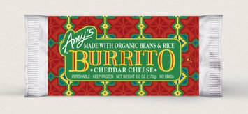 Amy's Kitchen Cheddar Cheese, Bean & Rice Burrito