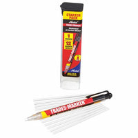 MARKAL 96130G Trades-Marker All-Surface Marker, White