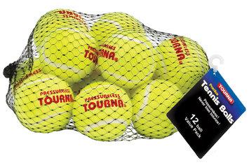 Unique Sports UNIQUE SPORTS PRODUCTS INC TOURNA Tennis Balls 12ct. - UNIQUE SPORTS PRODUCTS INC
