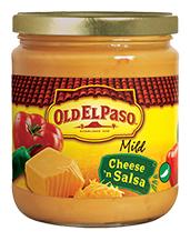 Old El Paso® Mild Cheese & Salsa