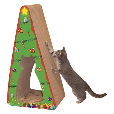 Imperial Cat 01124 Giant Christmas Tree Scratcher - 2-in-1
