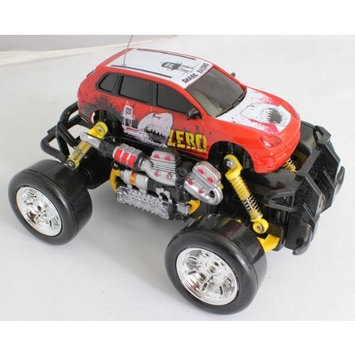 Jaloma Extreme Monster Drifting Truck 4x4 High Quality (Red) Porsche Cayenne 1:18 Electric RTR Rc Truck, Remote Control Monster Truck with Extra Grip Tires and Rechargeable Batteries