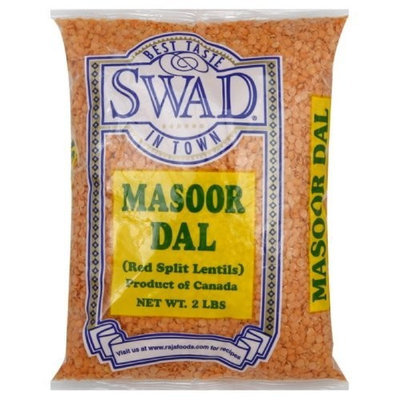 Swad Masoor Dal, 32 Ounce (Pack of 6)