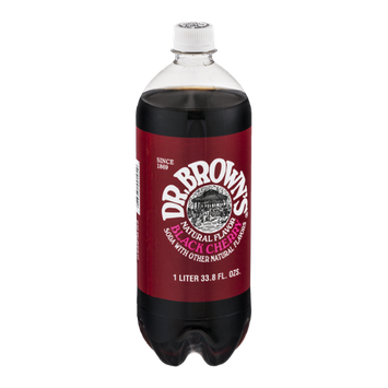 Dr. Brown's Black Cherry Soda Caffeine Free