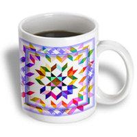 Recaro North 3dRose - Susan Brown Designs General Themes - Scrappy Quilt - 11 oz mug