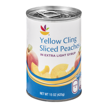 Ahold Yellow Cling Peaches Sliced in Extra Light Syrup