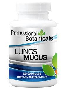 Professional Botanicals Lungs Mucus 60 caps
