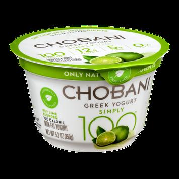 Chobani® 100 Calorie Key Lime Blended Greek Yogurt