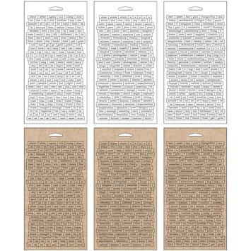 Leeco Industries Inc. Advantus TH92998 Idea-Ology Chitchat Stickers 1088-Pkg